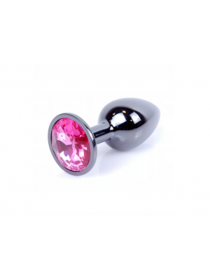 Analni dildo Dark silver Pink